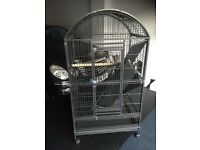 Very Large Parrot Cage for Amazons African Greys Macaws Cheap Free to Collect