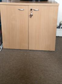 Lockable Cupboard / filing cabinet