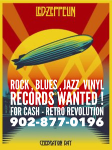 Old Record Collections / LPs $$ At Retro Revolution - Halifax