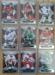 9 2013-14 Ultimate Collection Hockey Cards