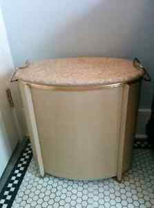 1960's Hollywood Regency Midcentury Laundry Hamper Kitchener / Waterloo Kitchener Area image 1