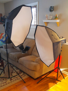 VIDEO/CAMERA LIGHTS AND STANDS