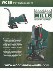 Stump Grinders, Wood Chippers, Utility Trailers, SawMills