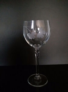 8 Wine Glasses & Matching Candle Holders