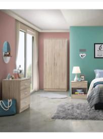 3 piece bedroom furniture set colour Sonoma oak 🔥 BNIB🔥