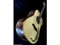BLUEBERRY GROOVE DREADNOUGHT GUITAR ( New Old Stock ) local pickup only.