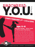 Empowered YOU Teen Kickboxing
