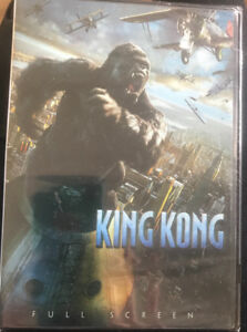 **BRAND NEW KING KONG DVD FOR SALE**