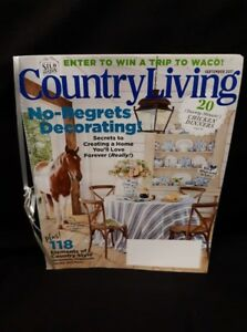 September 2017 Country Living20 Twenty-Miute Chicken Dinners