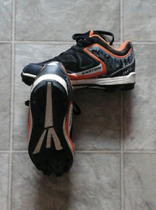 Baseball cleats, size 2