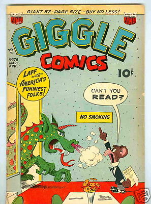 Giggle #76 March 1951 G/VG