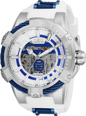 Invicta 26225 Star Wars Men's 51mm Automatic Stainless Steel Silver Dial Watch