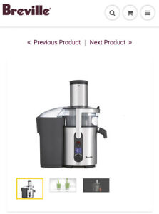Breville JuiceFountain Multi-speed - hardly used