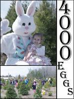 Annual Easter Egg Hunt at Copeman Tree Farms