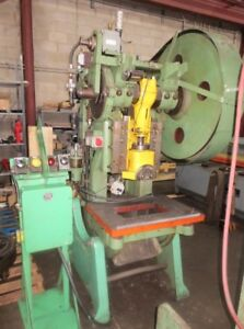 40 Ton Brown & Boggs, OBI Punch Press