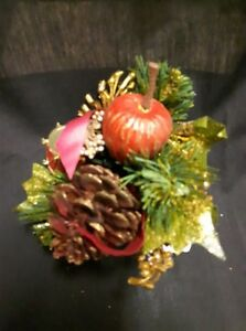 Small Red Pinecone Arrangement