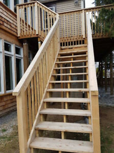Decks, Fences, Flagstone Porches, Pergolas, Stairs, Railings