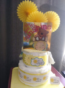 Baby Diaper Cakes and Gifts