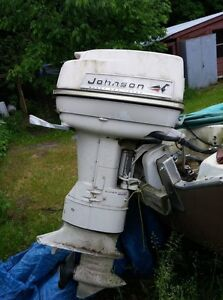 40 HP Johnson outboard motor  $250 o.b.o