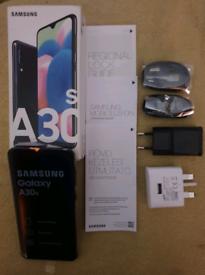 Samsung Galaxy A30s phone.