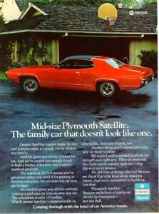 1972 plymouth satellite sebring plus advertisement for sale.