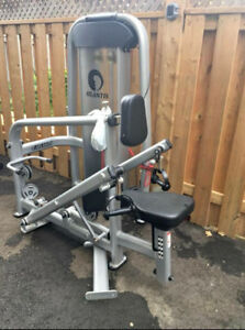 Atlantis chest supported diverging row commercial gym equipment