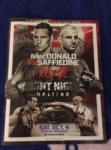UFC signed program