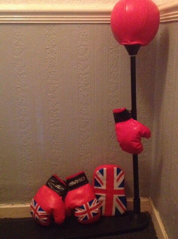 Punch bag & gloves (kids)