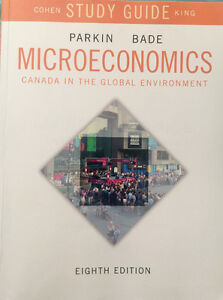 Microeconomics 8th Ed, Parkin Bade- Study Guide,Cohen King.