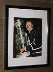 Signed Johnny Bower 8x10 Print