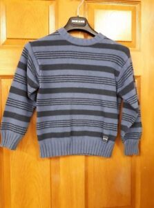 Boy's Blue and Black Sweater Size: 5