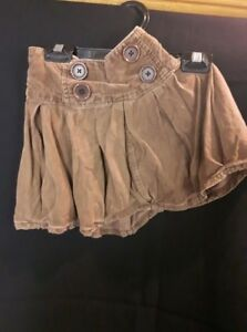Brown Corduroy Skirt