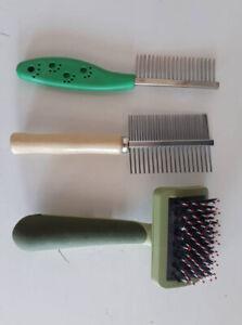 Peignes et brosse pour chien ou chat