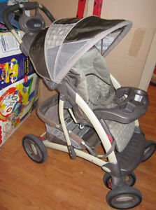 Two strollers: GRACO and travel