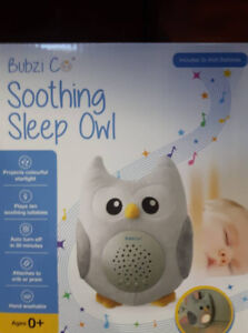 BUBZI CO BABY WHITE NOISE Machine Sleep Aid Night Light