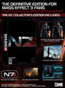 BNIB Mass Effect 3 N7 Collector's Edition PS3