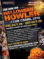 2016 Halloween Club Crawl FUN jobs in London!