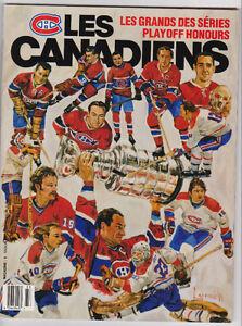 Revue 1991 Les Canadiens Magazine Les Grands des Series (A289)