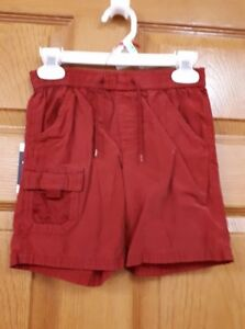Boys Red Gap Shorts Size: 2