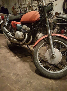 Triple 350 S2 Kawasaki project