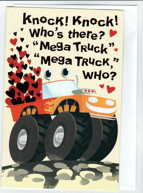 Valentine s Day Card Form FORGET ME NOT KNOCK, KNOCK Who s There  - $2.89