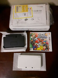 Japanese Import 3DS with Japanese Copy of Smash Bros. $70.