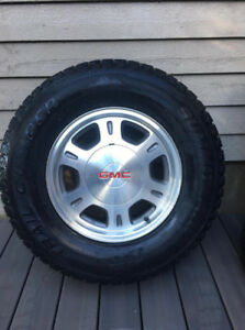 Alloy Truck Rims c/w good condition Tires