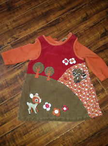 H&M 6-9 months 2pc (shirt is removable)