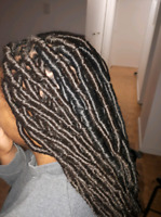 Tresses africaines, extensions de cheveux