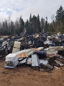 Boyles Recycling scrap metal drop off site