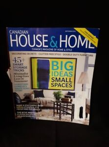 September 2012 Canadian House & Home