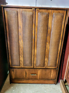 Armoire dresser in great condition and strong and sturdy