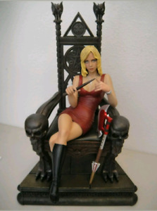 Sideshow Buffy Slayer On The Throne Statue