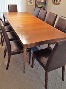 Dining Table and Hutch - Seats 10